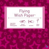 Contento Wunschzettel-Set Flying Wish Paper Mini pink stars